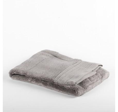 Serviette Eponge INAYA coloris gris  - Linge de maison - Lecomptoirdesauthentics