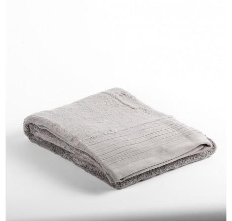 Drap de douche Eponge INAYA coloris gris  - Linge de maison - Lecomptoirdesauthentics