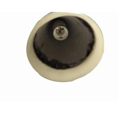 Suspension Lampe cônique en ciment blanc