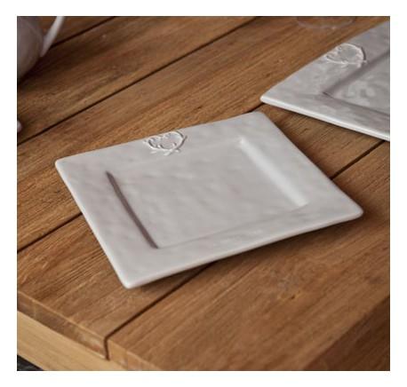 Petite assiette céramique grise DOLCEVITA - Vaisselle - Lecomptoirdesauthentics