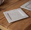 Petite assiette céramique grise DOLCEVITA